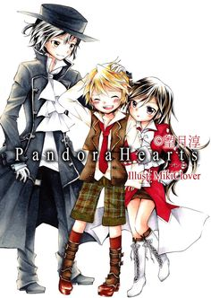 Pandora Hearts! Art from devientart by Mikiclover