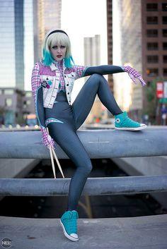 Spider-Punk Gwen by Maidofmight