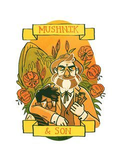 Mushnik & Son by OurSiblingRivalry on Etsy Horror Cartoon, Horror Art, Cartoon Art, Cartoon Characters, Wicked Book, Very Potter Musical, Little Shop Of Horrors, Horror Monsters, Rocky Horror Picture Show