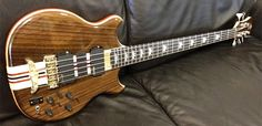 Alembic Stanley Clarke Signature Deluxe 5-String Bass