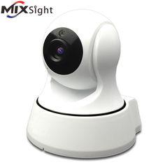 Sécurité à la maison IR Cut Vision Nocturne Caméra IP Sans Fil de Surveillance Wifi 720 P CCTV Caméra Baby Monitor 32 GB 64 GB Mémoire TF carte