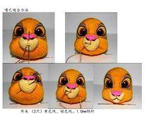 Simba Discussion sur LiveInternet - The Russian Online Diaries Service Crochet Bee, Crochet Amigurumi, Crochet Food, Crochet Doily Patterns, Crochet Dolls, Crochet Hats, Knitted Animals, Disney Crafts, Drops Design