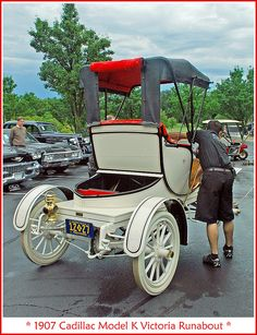 1907 Cadillac Victoria Runabout,