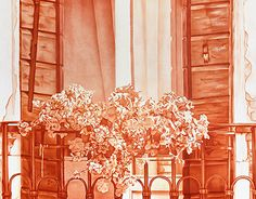 """Check out new work on my @Behance portfolio: """"Old balcony"""" http://on.be.net/1NjcFFk"""