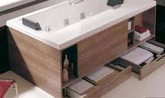 Znalezione obrazy dla zapytania mała łazienka z wanną