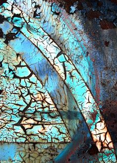 Rust | さび | Rouille | ржавчина | Ruggine | Herrumbre | Chip | Decay | Metal | Corrosion | Tarnish | Texture | Colors | Contrast | Patina | Decay | by Michael Lusk..., via Flickr