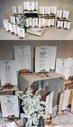 Sweet emotion: Una boda en La Rioja Alavesa (II) Seating plan boda bodega
