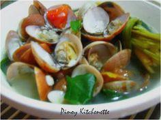 Lemongrass Clam Soup (Halaan sa Tanglad) ~ Pinoy Kitchenette