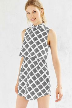 Cooperative Layered Dress - Urban Outfitters