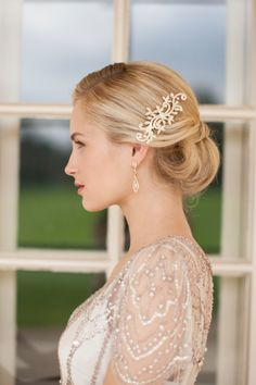 Giveaway ~ Win a bridal hairpiece from Mariell - Accessories: Mariell   Styling: Styled Creative   Photographer: Rachel McGinn   Makeup: Béke Beau   Hair: Amanda D'Andrea