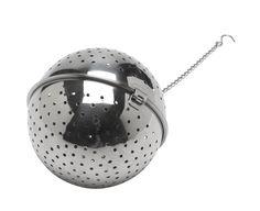 roestvrij staal, koken, kruiden, 10cm, vergiet, kruidenbol, bal, rijstbal, rijst, bol, japanskoken  Er is er ook een van 14 cm blijkbaar. Een bal voor het hele gezin