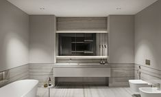 Master Bedroom Bathroom, Bedroom Closet Design, Bathroom Interior Design, Wc Design, House Design, Restroom Design, Apartment Projects, Interior Architecture, Residential Architecture