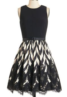 Beautiful chevron lace dress http://rstyle.me/n/mepvdnyg6