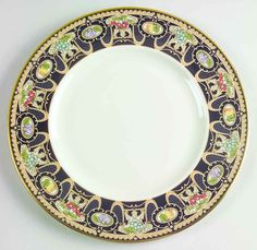 Pattern: LAMMERMOOR. Piece: Luncheon Salad Plate. Manufacturer: Lenox. China - Dinnerware Crystal & Glassware Silver & Flatware Collectibles. Replacements, Ltd. has the world's largest selection of old & new dinnerware, including china, stoneware, crystal, glassware, silver, stainless, and collectibles. | eBay!