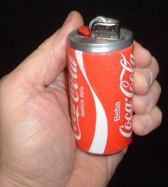 old Coca Cola Table lighter