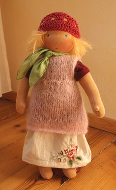 Waldorf doll....love the hat.