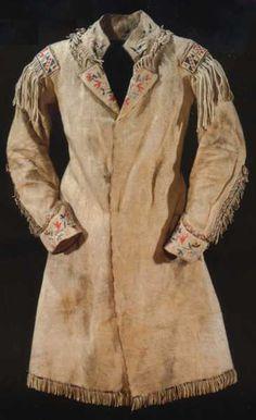 Pattern for Buckskin Jacket | Fringe on buckskin shirts - Traditional Muzzleloading Forum ...