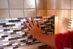 Initiales GG ... : Test : le carrelage adhésif par Smart Tiles!