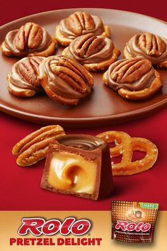 Looking for a fun sweet and salty treat to make at home? Try this delicious ROLO® snack hack with pretzels and pecans. ROLO® Pretzel Delights are a delicious dessert that only take 5 minutes to make! A simple and easy recipe using ROLO® Creamy Caramels Wrapped in Rich Chocolate candy. The perfect baking activity to do with the kids and family.