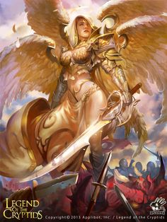 Legend of the cryptids — Angel Legend of the cryptids