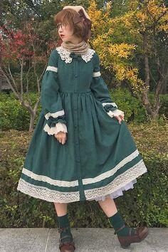 52 ideas dress vintage fashion peter pan Source by Set Fashion, Lolita Fashion, Girl Fashion, Fashion Outfits, Fashion Design, Dress Fashion, Fashion Ideas, Cute Dresses, Vintage Dresses