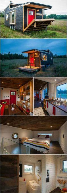 Wow! This Canadian Tiny House Has Its Own Drawbridge {12 Photos}