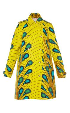 Balena Trench Coat by Stella Jean for Preorder on Moda Operandi