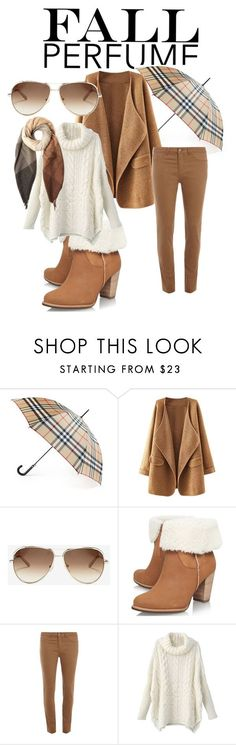 """Fall"" by dijanakovacevic ❤ liked on Polyvore featuring Burberry, Chloé, UGG Australia, Dorothy Perkins, Paul Smith, women's clothing, women, female, woman and misses"