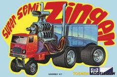photos of super semi zinger Pedal Cars, Rc Cars, Pictures Of People, Art Pictures, Photos, Plastic Model Kits, Plastic Models, Disney Junior, Vintage Models