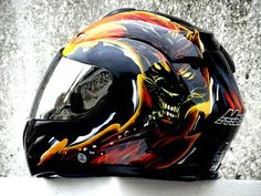 MASEI 802 Black Dwolf Full Face Motorcycle DOT Helmet FREE SHIPPING US$159