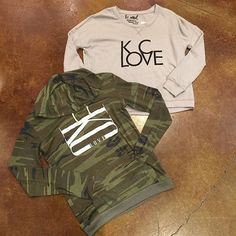 Our cup runneth over with #KClove this season!! These unique and adorable @sequinsandsoul sweatshirts are the perfect way to show hometown pride this Winter! Crop sweatshirt ($60), camo ($55). #frankieandjules #kclove #camo #hoody #sequinsandsoul #adorable #giftgiving #christmasshopping #santababy #underthetree #boutiquestyle #warm #cozy #citypride #adorable #ootd #flatlay #shopsmall #shoplocal #inlove #dearsanta #giftideas