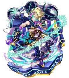 Art Anime, Manga Anime, Fantasy Characters, Anime Characters, Monster Strike, Estilo Anime, Cute Chibi, Fantastic Art, Amazing