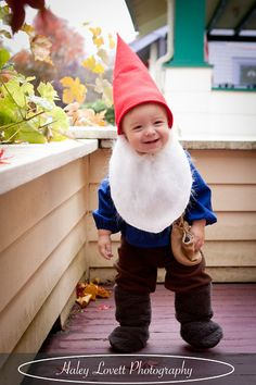 The Life of a Cheap Chickadee Mr. u0026 Mrs. Gnome Halloween Costume and How to... | Halloween | Pinterest | Gnomes Halloween costumes and Costumes  sc 1 st  Pinterest & The Life of a Cheap Chickadee: Mr. u0026 Mrs. Gnome Halloween Costume ...