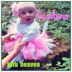 My little girl in a no sew tutu . mwah bambino