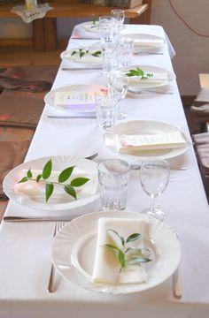 Auf Einige Tischen Konnten Wir Kein Deko Aufstellen Da Tische Zu Schmal Waren