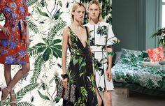 Exotica: wilde prints voor de lente van 2016 #trends #tropical #botanical #prints #patterns #SS16 #spring #interior