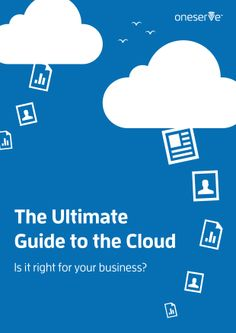 The Ultimate Guide to the Cloud Computing, Ebooks, Knowledge, Management, Clouds, Business, Store, Business Illustration, Cloud