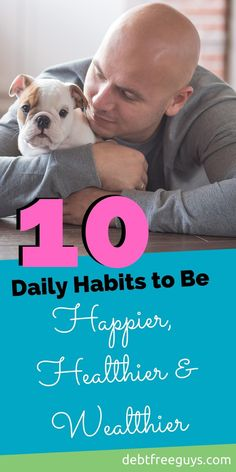 What habits do you need to practice daily to reduce stress, feel better and get on the road to financial independence? Find out on this Queer Money.  #habits #dailyhabits #healthier #wealthier #happier #richer #rich #habit via @debtfreeg