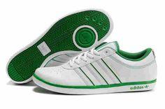 Adidas Tennis Shoes   Men's Adidas tennis shoes white/green