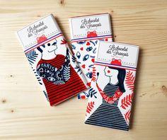 Le chocolat de Pâques s'expose chez Sergeant Paper Food Packaging Design, Custom Packaging, Packaging Design Inspiration, Brand Packaging, Graphic Design Inspiration, Branding Design, Typography Poster, Graphic Design Typography, Graphic Design Art