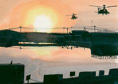 Art by US Soldier Matthew Cook