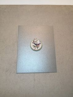 Blank Card Bird Card 4.25 x 5.5 inches includes envelope