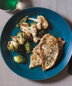 Herbed Chicken Cutlets With Roasted Winter Vegetables--we absolutely LOVE these veggies and enjoy them almost every other week!