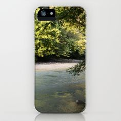 River of woe iPhone & iPod Case by Fenia Stavra - $35.00