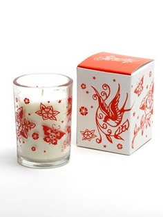 Unscented Sailor Jerry Tattoo print Candle