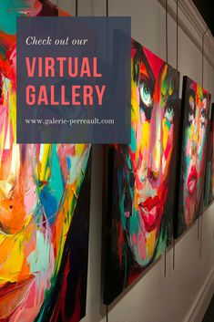 See the latest Françoise Nielly's artworks in our virtual gallery!  #Art #FrancoiseNielly #ArtGallery #Artist #PopArt #Portrait #Quebec #Painting #Artwork