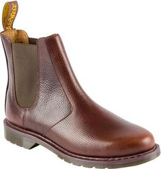 Dr. Martens Men's Victor Chelsea Boot,Dark Brown New Nova Leather,UK 9 M >>> Check out this great product.