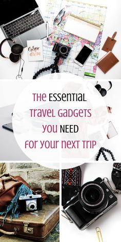 You need to check out these awesome travel gadgets. These high tech travel must-haves will make traveling and staying connected so much easier! Travel like a pro, with all the comforts of home. Best Travel Gadgets, New Gadgets, Cool Gadgets, Fitness Gadgets, Baby Gadgets, Kitchen Gadgets, Travel Must Haves, Must Have Gadgets, High Tech Gadgets