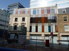facade at Tooley Street in London, United Kingdom