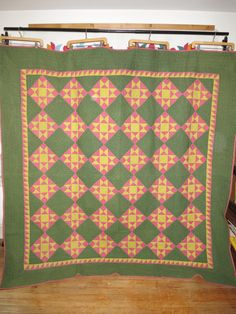 Hey, I found this really awesome Etsy listing at https://www.etsy.com/listing/246060859/antique-star-quilt-from-pennsylvania